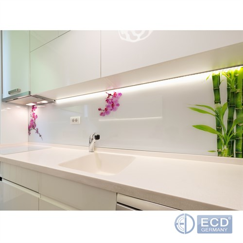 bande de lumi re led clairage sous meuble cuisine armoire briloner baguettes ebay. Black Bedroom Furniture Sets. Home Design Ideas