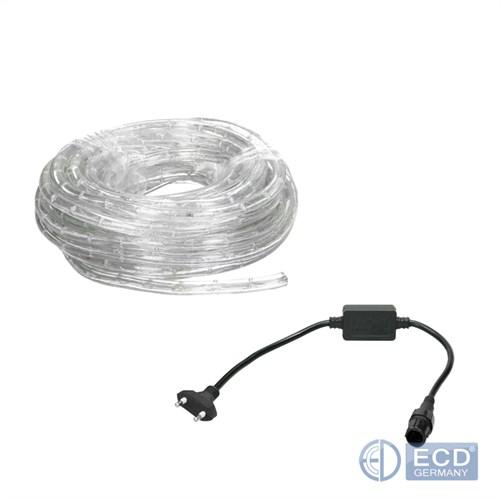 led lichtschlauch lichterschlauch lichterkette innen ip20 10m 20m 30m 50m ebay. Black Bedroom Furniture Sets. Home Design Ideas