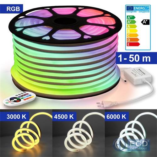 30//60 LEDs USB//Batterie LED Lichterkette Streifen Warmweiß Wohnzimmer TV Deko