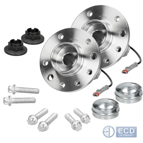ABS Sensorring vorne 2 x Radnabe//Radlager//Radlagersatz