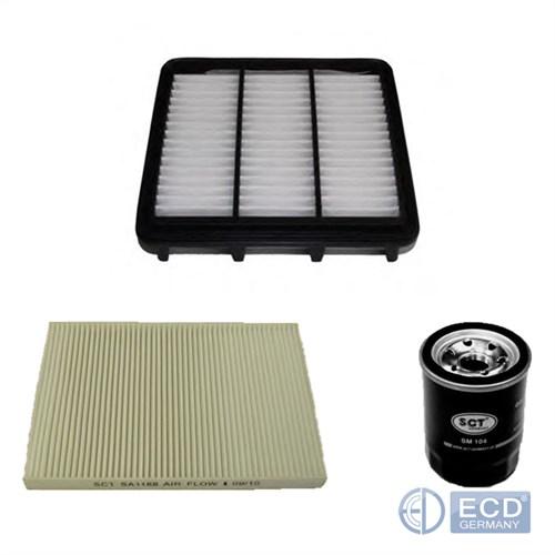Inspektionspaket Service Kit Filtersatz Hyundai i30 CW FD KIA Cee/'D SW ED