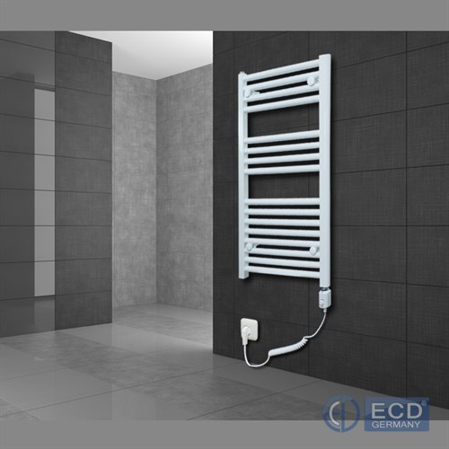 480x840 mm elektro badheizk rper heizk rper handtuchw rmer heizung wei 600 w ebay. Black Bedroom Furniture Sets. Home Design Ideas