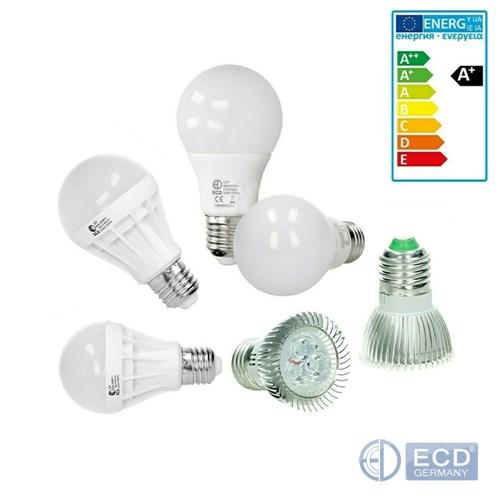 10x LED E27 Leuchtmittel 9W ww Lampe Glühbirnen Birne Leuchte