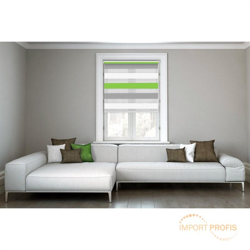 doppelrollo klemmfix duo rollo ohne bohren seitenzugrollo kettenzugrollo fenster ebay. Black Bedroom Furniture Sets. Home Design Ideas