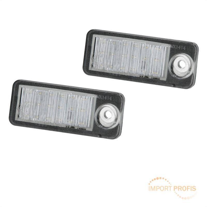 LED Kennzeichen Beleuchtung Nummernschildbeleuchtung für Audi A6 C5 ...