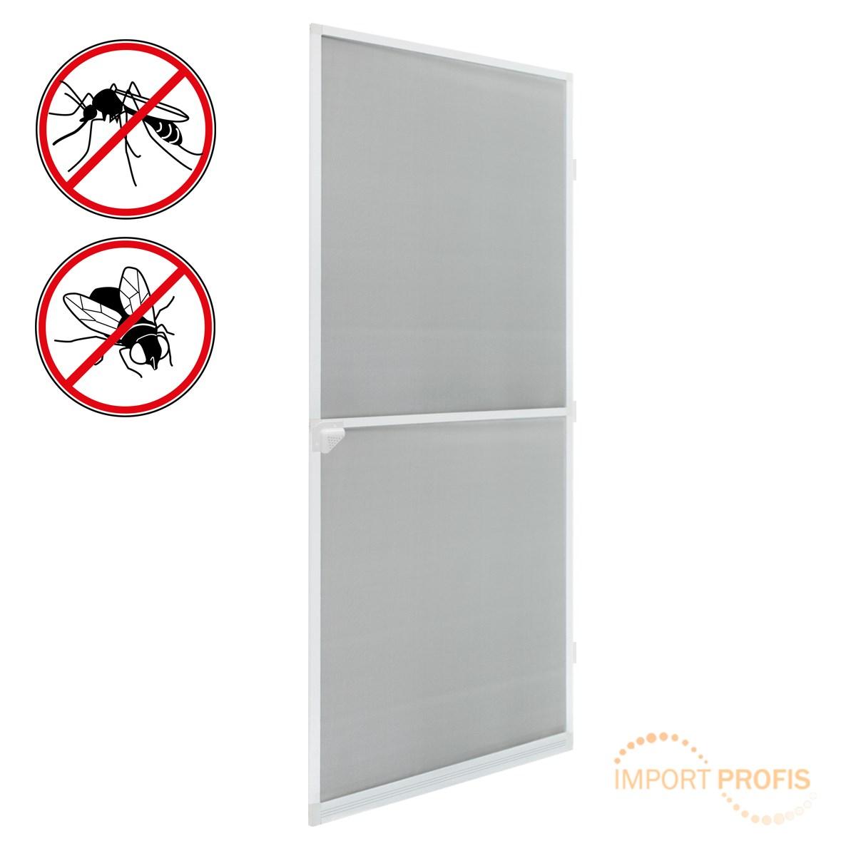 fliegengitter t r insektenschutz alurahmen fliegenschutz m ckenschutz wei ebay. Black Bedroom Furniture Sets. Home Design Ideas