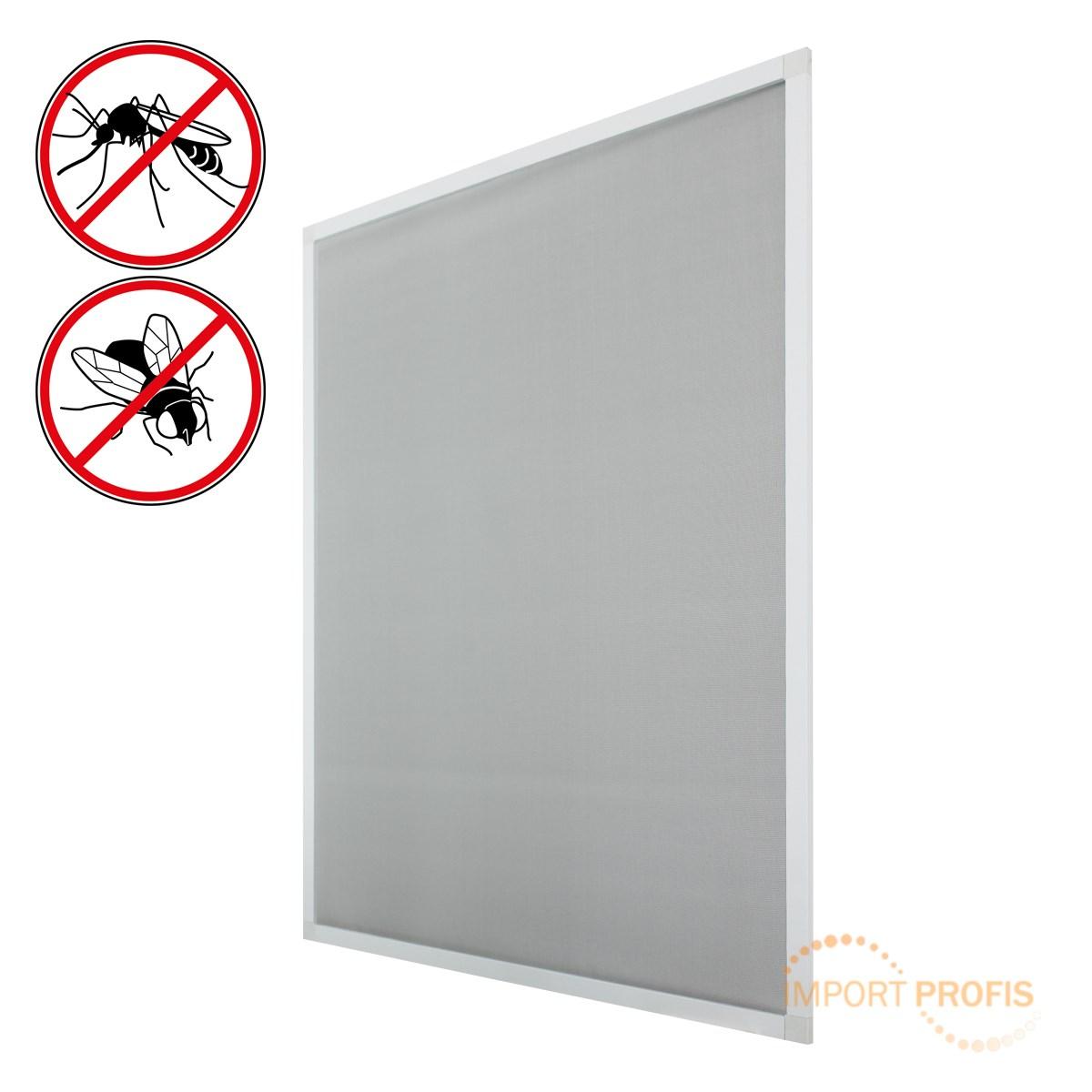 fliegengitter wei 80 x 100 cm fenster insekten schutz. Black Bedroom Furniture Sets. Home Design Ideas