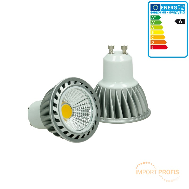 4w led cob gu10 spot lampe birne leuchte dimmbar kaltwei. Black Bedroom Furniture Sets. Home Design Ideas