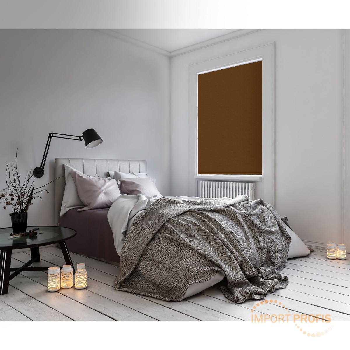 verdunkelungsrollo verdunkelsrollo klemmfix ohne bohren seitenzug rollo fenster ebay. Black Bedroom Furniture Sets. Home Design Ideas