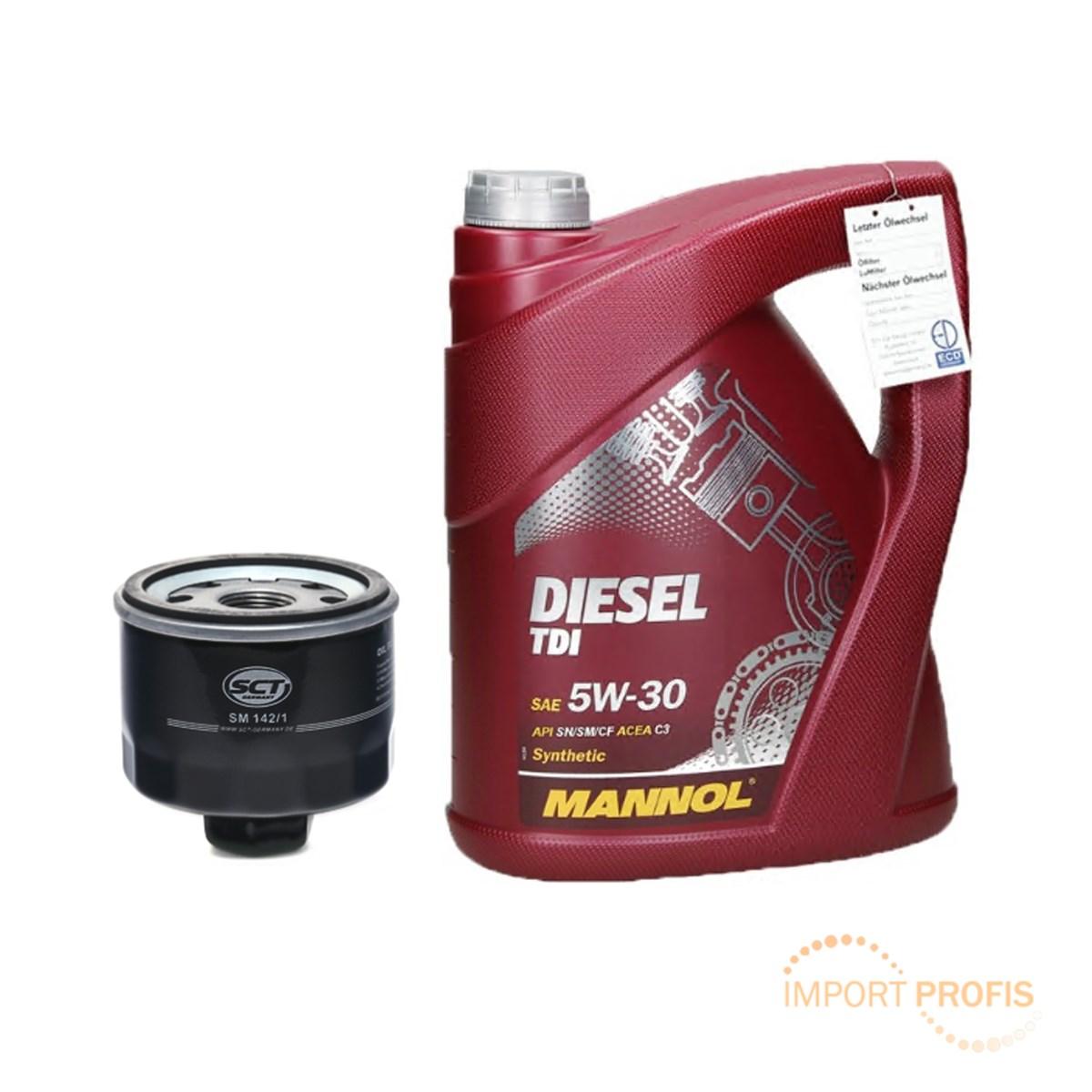 5l mannol diesel tdi 5w30 motor l l lfilter dacia. Black Bedroom Furniture Sets. Home Design Ideas