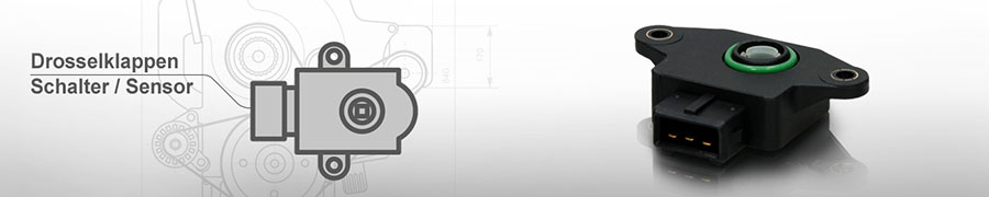 Drosselklappe Schalter / Sensor