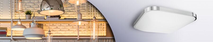 LED-Decken- und Wandleuchten
