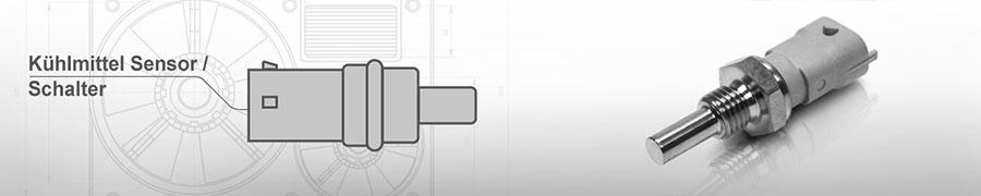 Kühlmittel Sensor / Schalter