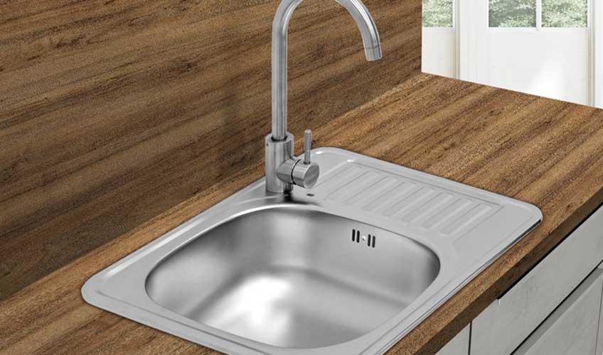 Küchenspüle / Spülbecken aus Edelstahl
